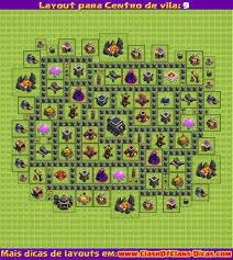 layout vila nivel 9 clash of clans melhores layouts para clash of clans centro de vila nível 9 clash