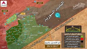 Map Of Syria And Surrounding Countries by Day Of News On The Map March 30 2017 Map Of Syrian Civil War
