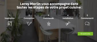 conception cuisine leroy merlin meuble de cuisine delinia cuisine équipée aménagée modulable