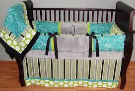 Girls Nursery Bedding Set by Crib Bedding Sets Teal Baby Crib Design Inspiration