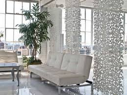 Room Dividers Diy by Leather Diy Sotto Retro Chic Hanging Room Divider With White Sofa