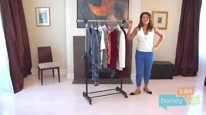 honey can do gar 01124 expandable garment rack instruction video