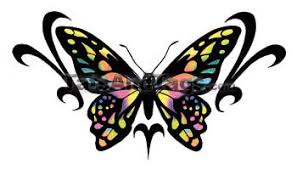 butterfly temporary tattoos medium and large designs