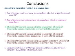 cost of alum use of bio coagulant in wastewater treatment kanoj neeraj 2013
