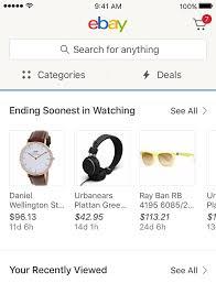 Ebay Help Desk Get The Ebay App For Iphone