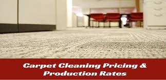Area Rug Cleaning Prices Comercial Carpet Cleaning Pricing U0026 Production Rates