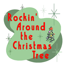 rockin around the christmas tree clipart 17