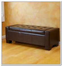 brown storage ottoman with tray home design ideas