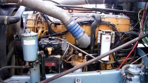 used cat c15 500hp engine start youtube