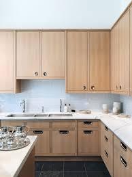 wood cabinets kitchen light waterworks modern kitchen with light wood cabinets