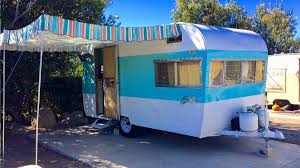 Awnings For Trailers Vintage Trailer Awnings By Pink Flamingo Awnings