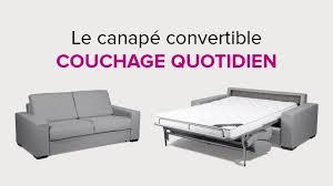 canapé couchage quotidien la maison du convertible présentation du canapé convertible en