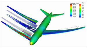 wing design optimization of a boeing 777 sized aircraft