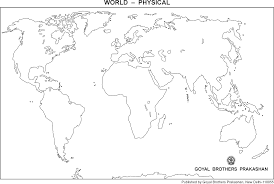 Blank Map Of World Physical by Black And White Physical Map Of World Pictures To Pin On Pinterest