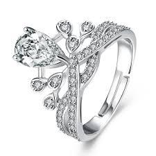 online get cheap platinum engagement rings aliexpress com