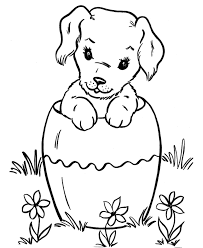 dog coloring pages online easter dog coloring pages animal coloring pages of