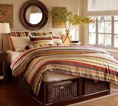 striped duvet covers u0026 shams for a fancy bedroom