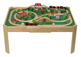 wooden train set table train table with storage uk best table decoration