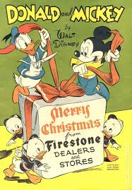 donald and mickey merry 1943 giveaway comic books