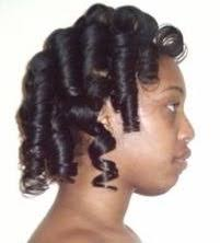 roller set relaxed hair lonei s hair journey nadia s notes