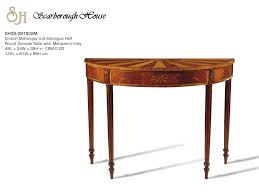 scarborough house sh08 081502m half round console table