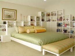 Simple White Bed Frame Bedroom Real Wood Bed Frame White Bed Pine Bed Frame White