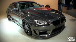 custom bmw m6 first look hamann mirr6r m6 gran coupe iaa 2013 youtube