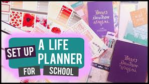 college planning on the erin condren life planner youtube