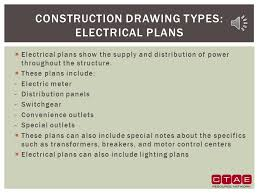 construction drawing occupational safety and fundamentals ppt