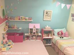 girls bedroom reveal pretty vintage shabby chic my life in step