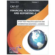 ca caf 5 financial accounting and reporting 1 2016 rise