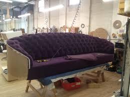 Curved Back Sofa by Custom Curved Back Sofa Bespoke By Luigi Gentile