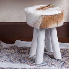 White Rug Persian Cowhide Rug In Brown Blue U0026 White Cowhide