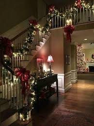 Cost To Decorate Hall Stairs And Landing Best 25 Christmas Stairs Decorations Ideas On Pinterest