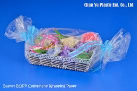 gift basket wrapping paper bopp cellophane wrapping paper manufacturing chun yu