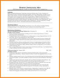Harvard Mba Resume Template Example Mba Resume Tips On Writing Resume
