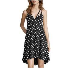 wyatt women u0027s black scuba knit sleeveless fit and flare slip on