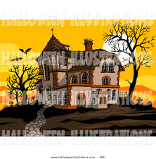 spooky clip art royalty free creepy stock halloween designs