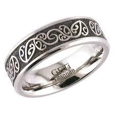 mens wedding rings nz 7mm titanium new zealand koru fern ring avanti wedding