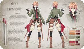 Anime Character Design Ideas Orion Reference By Riniuu Deviantart Com On Deviantart