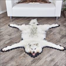 living room amazing taxidermy bear head form grizzly bear rug