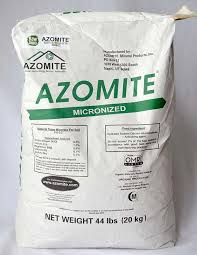 Rock Dust For Gardens 44 Pound Azomite Volcanic Ash Rock Dust Mineral Powder Omri