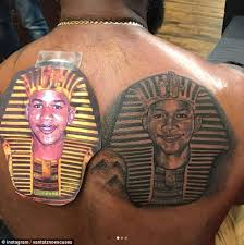 trayvon martin u0027s father gets a tattoo in honor of his son daily
