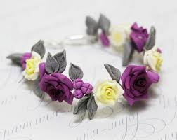 purple roses for sale purple bracelet etsy