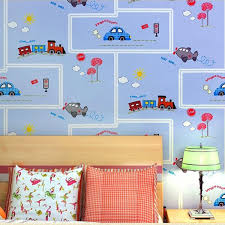 wallpapers for kids bedroom eco friendly lovely cartoon cars wallpapers roll kids room