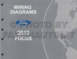 2013 ford focus wiring diagram manual original