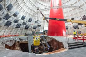 where is the national corvette museum national corvette museum sinkhole repairs to begin in november