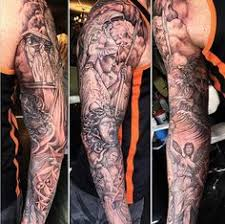 tatto design of and evil tattoos and evil