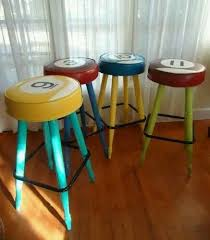 pool table bar stools billiard pool ball inspired bar stools perfect for game room