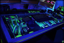 Video Gaming Desk by Raz3r D3sk By L3p Megagames